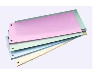 Separatoare (Intercalatoare) din carton color